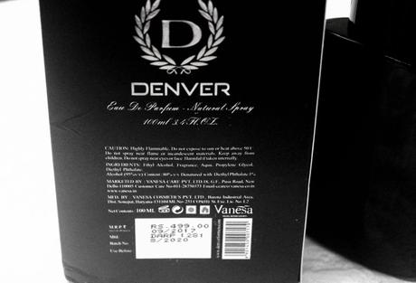 Denver Arcane Eau de Perfume Review