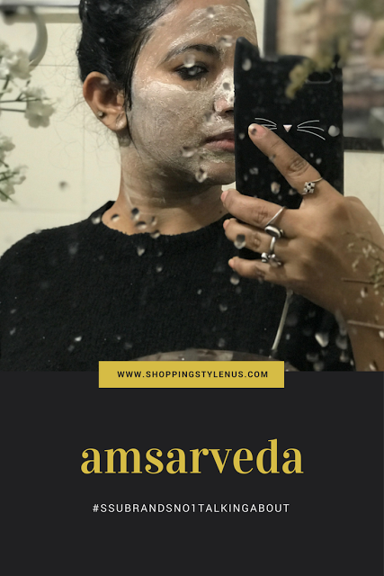 I am absolutely loving this Mud Mask by Amsarveda. A new brand that I have found out.