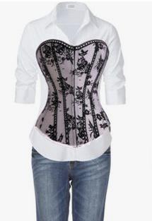 seductive lace bustier dress