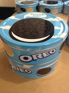 oreo cookie tins