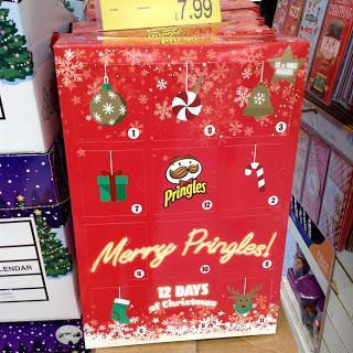 Merry Pringles Advent Calendar
