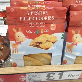 tesco mince pie cookies