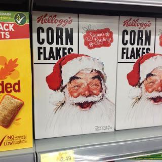 kelloggs cornflakes seasons greetings