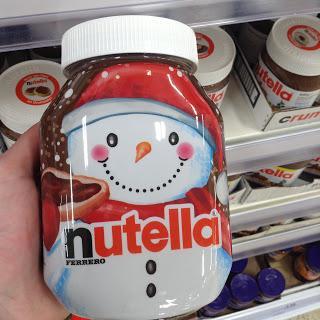 Ferrero Nutella with Festive Design
