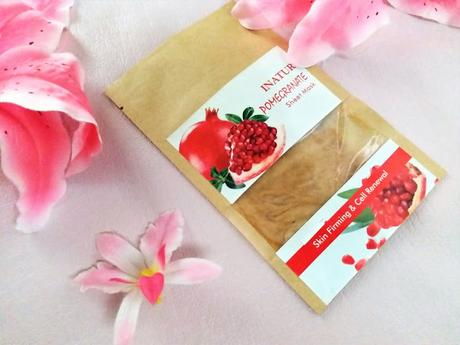 *New launch Alert* Inatur Herbals Pomegranate Sheet Mask