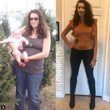 Mother sheds 80 pounds on a keto diet