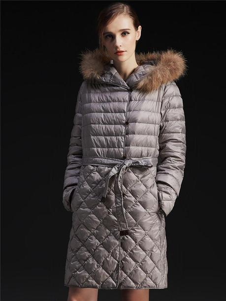 plus size down jacket