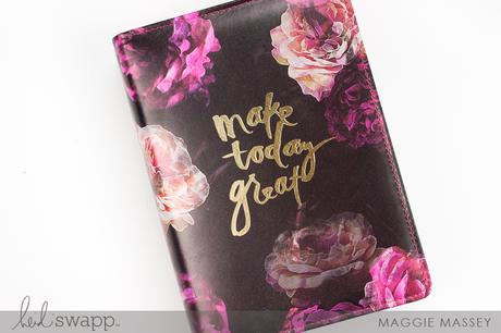 a look at the new heidi swapp personal sized memory planner kit