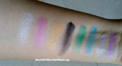 Oriflame The One Blend Palette Eyeshadow Review, Swatches and EOTD