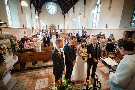 All Saints Church Branksome Wedding