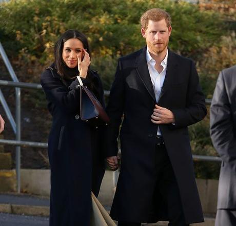 Meghan Markle And Prince Hot Ginge Went To Work Together In Matching Navy Coats. They Would….