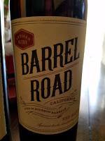 Bourbon Barrel Aged Wine with Barrel Road Red Blend