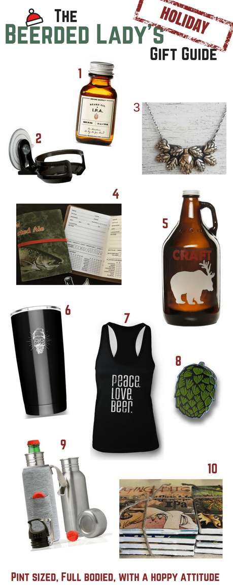 The Beerded Lady's Holiday Gift Guide