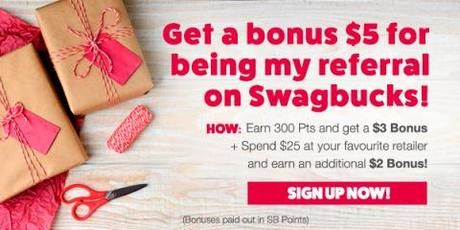 Get $5 when you sign up for Swagbucks during December (Canada and Australia)