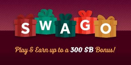 Get more free gift cards for the Holidays from Swagbucks during December's Swago with Spin & Win (Intl)