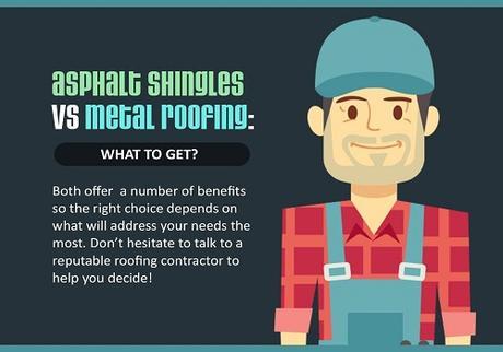 Benefits of Asphalt Shingles and Metal Roofing
