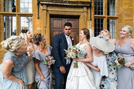 York Wedding photographers funny friend photo