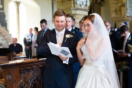 York Wedding Photographers bride makes silly face