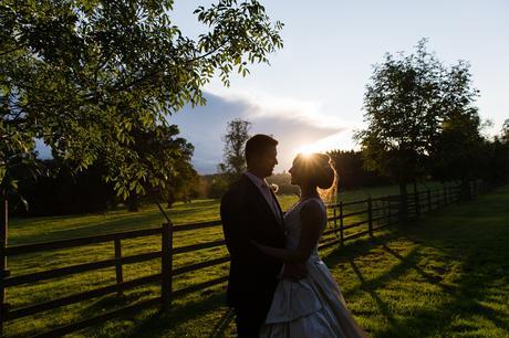 York Wedding photographers couple in the sunset