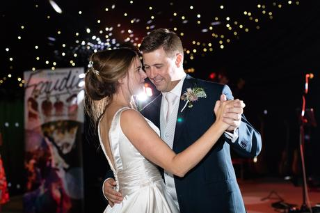 York Wedding photographers first dance