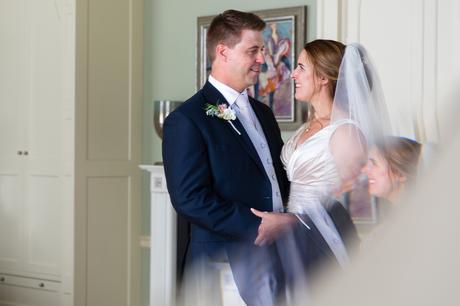 York Wedding photographers reflection portrait