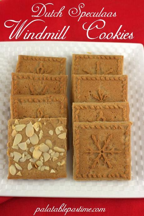 Dutch Speculaas Cookies Windmill Cookies Christmascookies