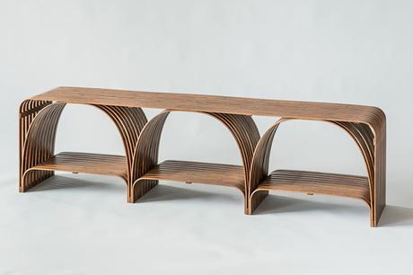 Bamboo bending for creating artisanal furniture