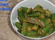 Assamese Bhendir Sorsori Ladies Finger Mustard Sauce