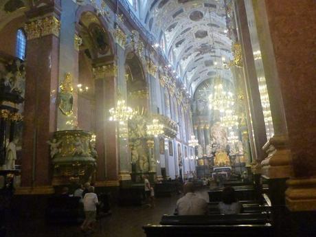 Attending Sunday Morning Mass at Jasna Góra Monastery, Częstochowa, Śląsk Province