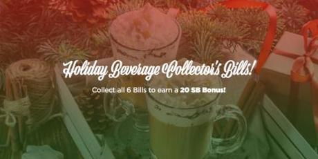 Holiday Beverage Collectors Bills