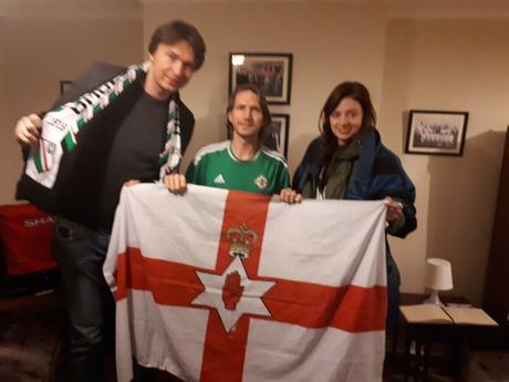 Śmieszne Historie o Piłce Nożnej w Polsce: Northern Ireland v. Poland 4 A Side Match in Belfast City