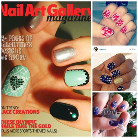 Image: free Nail Art Gallery Magazine
