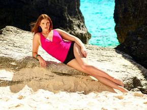 Enjoy Scenic Italian Beaches in Designer Tankinis