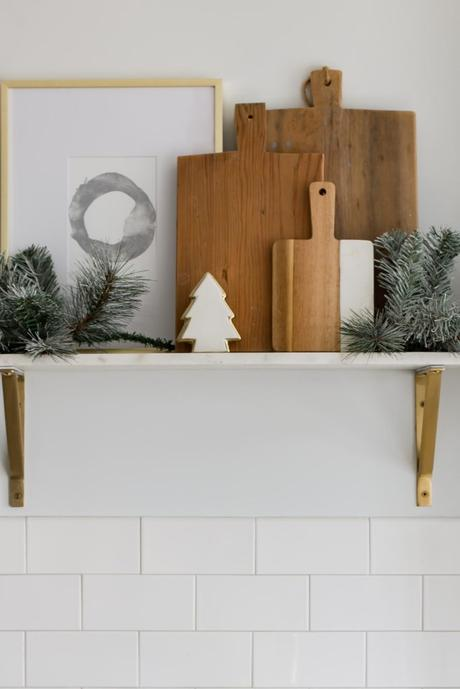 I'm Dreaming of a White Christmas Holiday Home Tour Part III- Kitchen