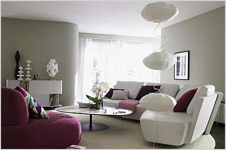 purple living room designs decorating tips and examples