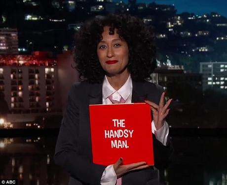 Tracee Ellis Ross Reads 'Handsy Man' On Jimmy Kimmel Live [WATCH]