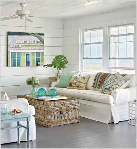 coastal cottage decorating