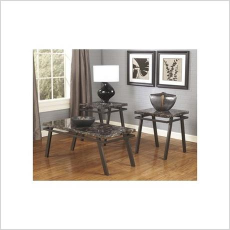 3 piece living room table sets 4