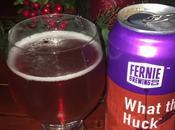 Steve's Beer Advent Calendar What Huck Huckleberry Wheat Ale-Fernie Brewing