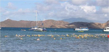 Image result for nevis to st. kitts swim images
