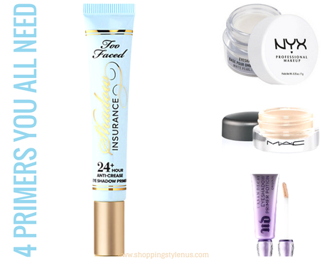 According to one of the top beauty bloggers Rati Tehri Singh, these are the best eye primers.