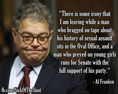 Franken Resigns (But Republican Offenders Carry On)