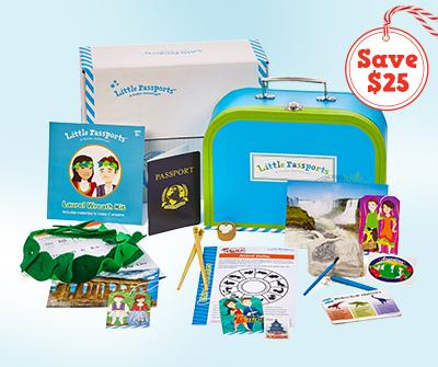 Save $25 on Any New 12-Month Little Passports Subscription!
