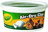 Image: Crayola Air Dry Clay | Softens easily with water and quickly cleans from hands and surfaces