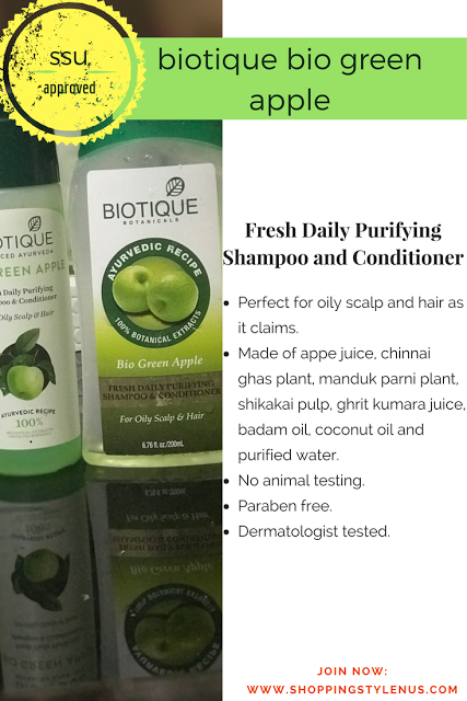 A daily shampoo made for oily scalp and hair which is free from preservatives, animal testing and dermatolist tested.