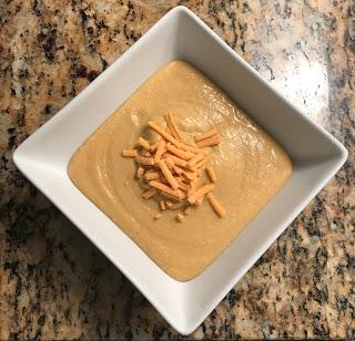 Cheesy Cauliflower Mushroom Soup