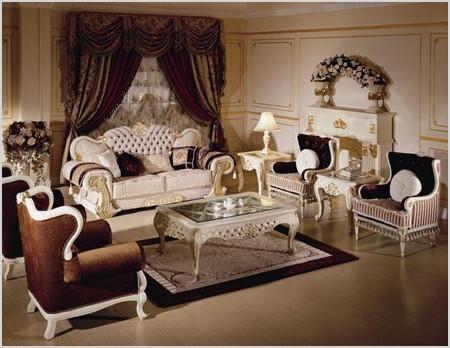 beautiful classic interior living room