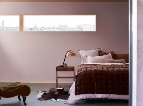 Heart Wood се комбинира чудесно с топлия шоколадово кафяв цвят.