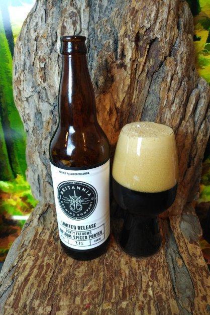 Forty Fathoms Imperial Spiced Porter – Britannia Brewing Company