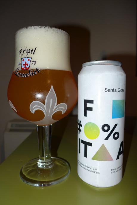 Tasting Notes:  To Øl: Santa Gose F*** It All